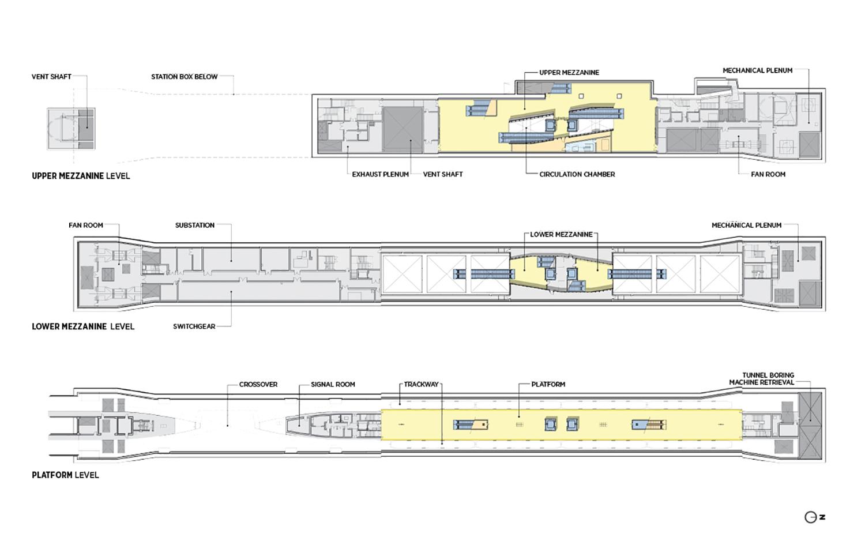 Floor plans. LMN Architects}