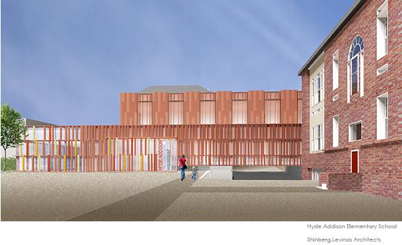 Hyde Addison Elementary School  Shinberg Levinas Architects}