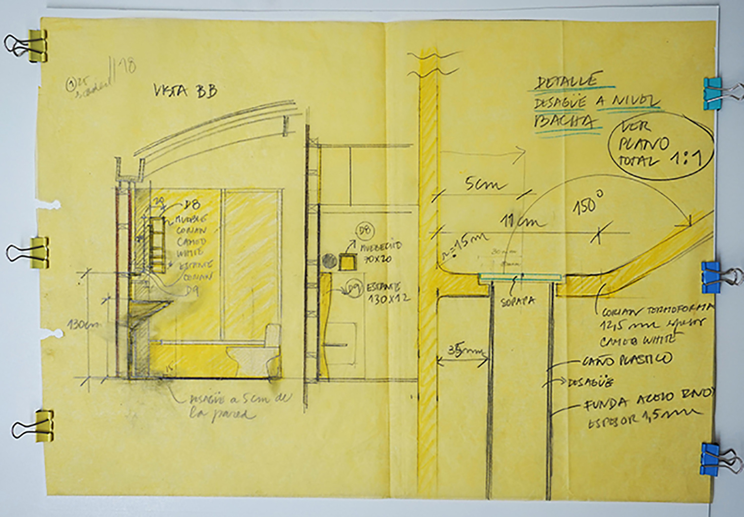 Project drawings }