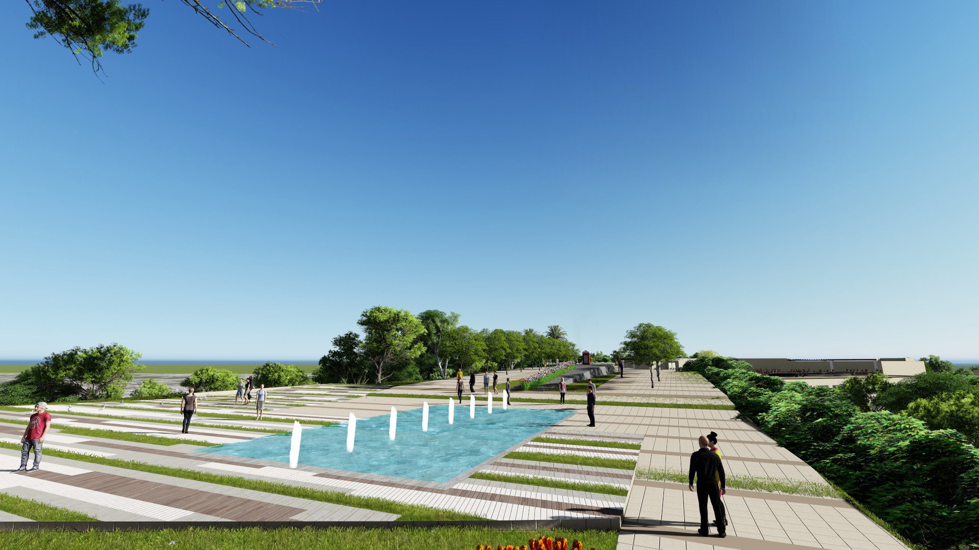 Hard Landscape Antalya Metropolitan Municipality Archive}