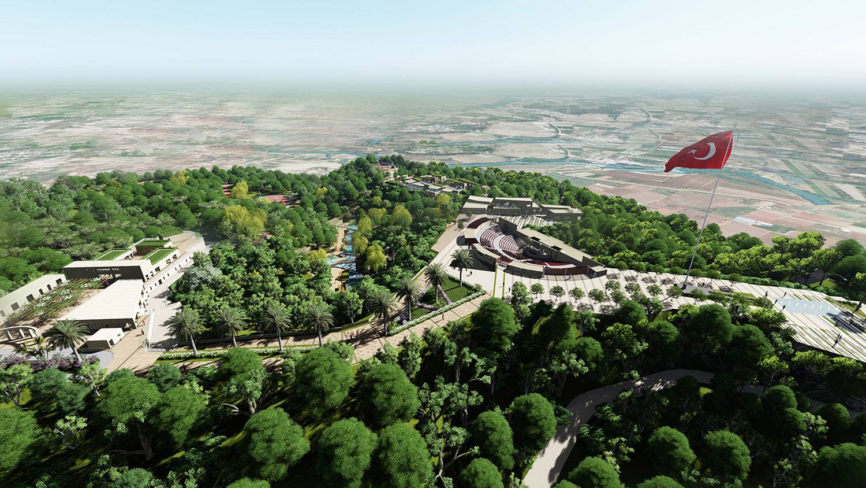 Aerial View 2 Antalya Metropolitan Municipality Archive}