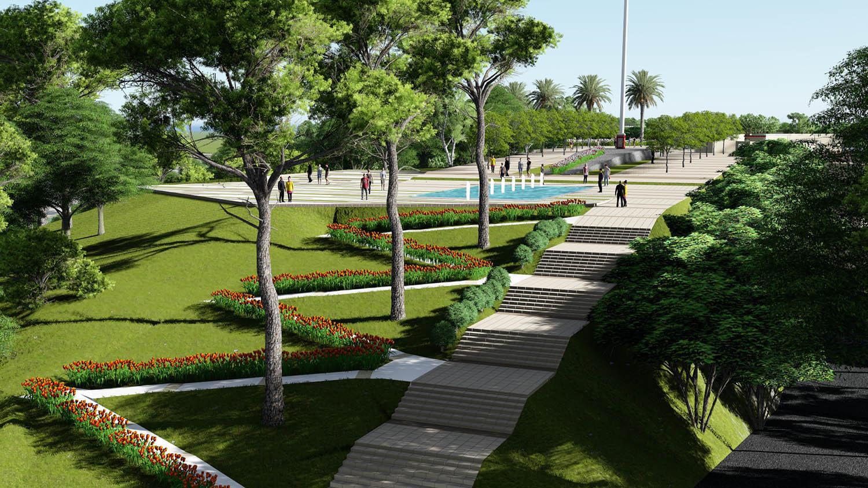 Hard and Soft Landscape Antalya Metropolitan Municipality Archive}