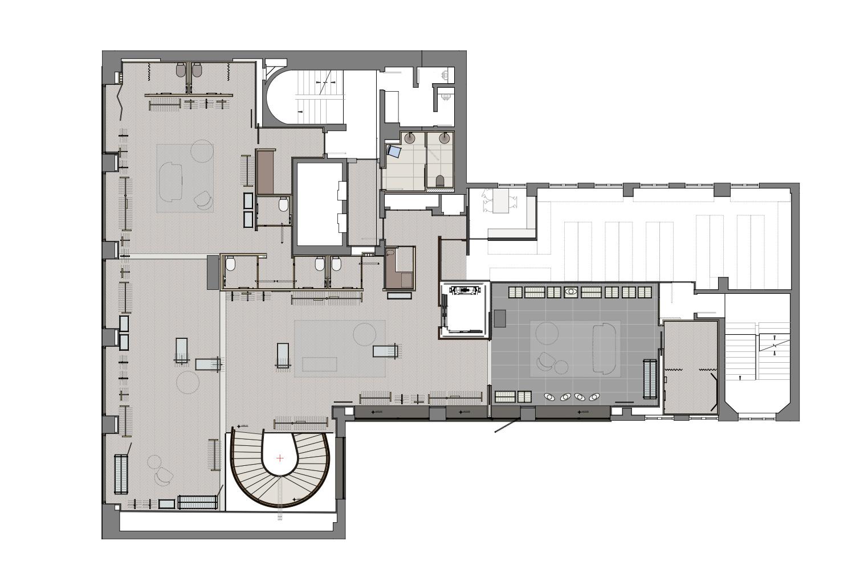 first floor plan }