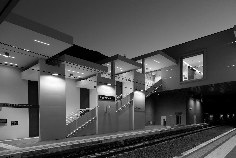 Interno 2 Banchina Stazione Vigna Clara, Roma
