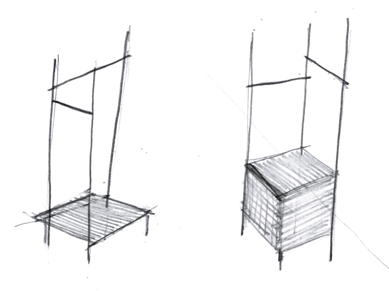 freestanding sketch (by Duccio Grassi) }