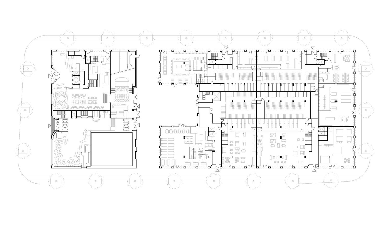ground floor plan blauraum}