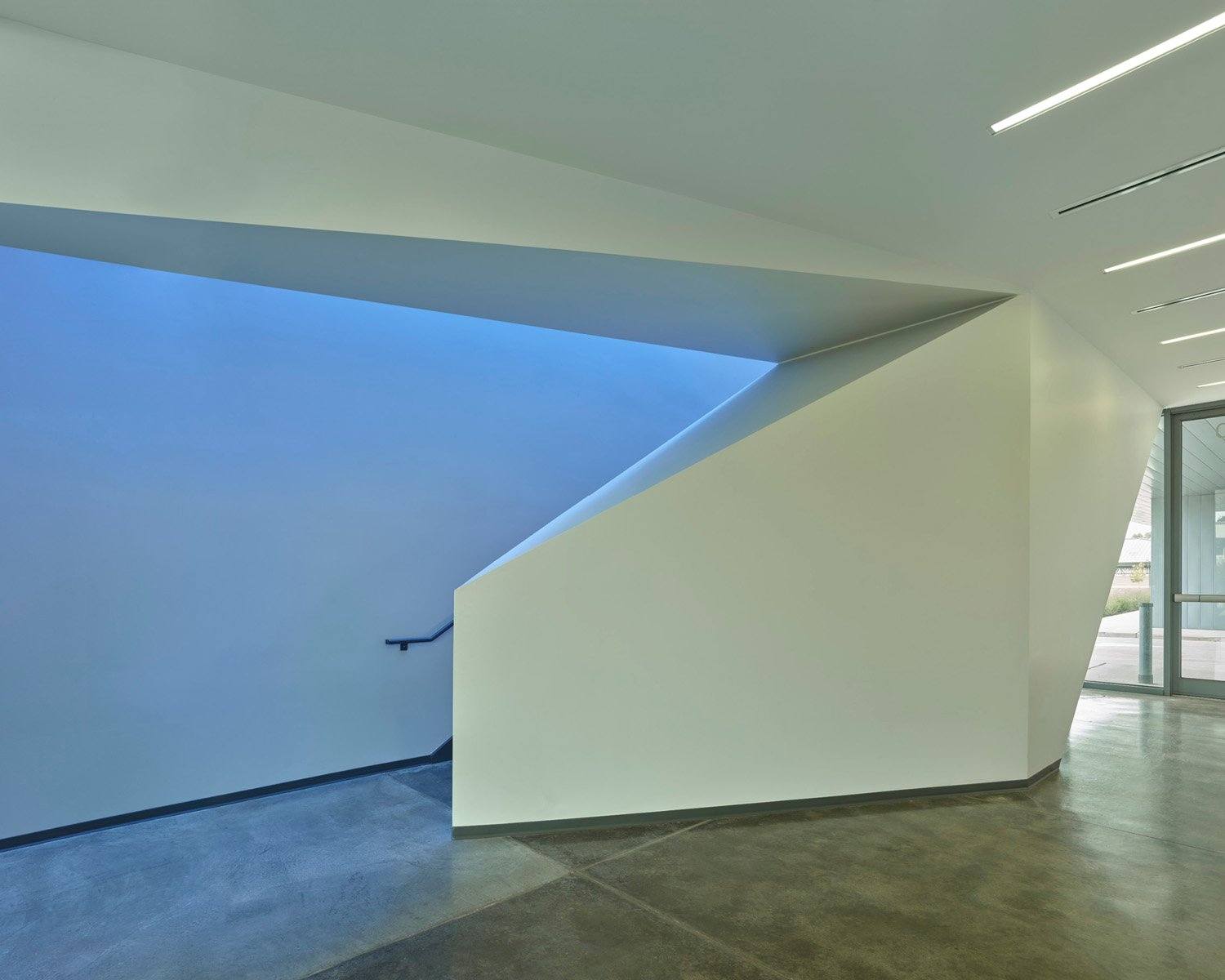 The Clinic Stair is a threshold to the spaces of healing and comfort above