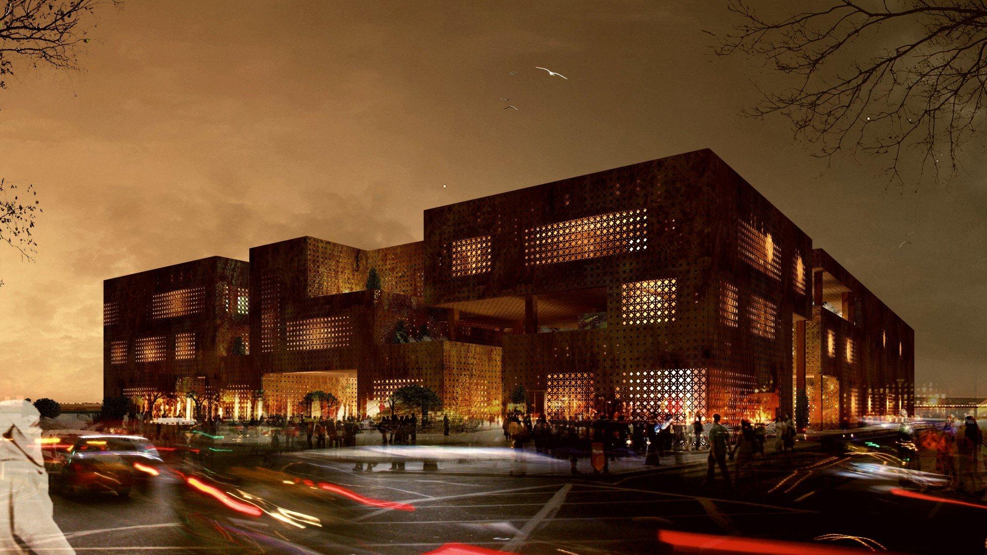 Marrakech Congress Center }
