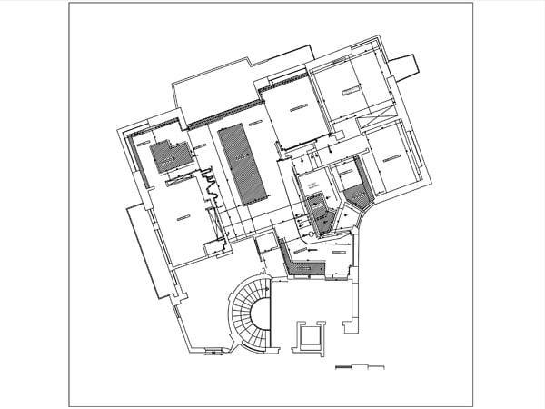 Planimetria totale dell'appartamento }