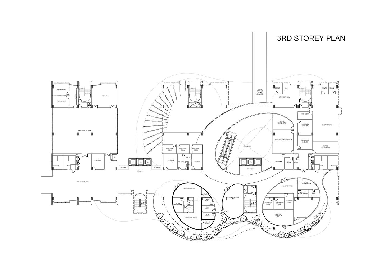 3rd Storey Plan }