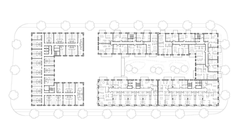 standard floor plan blauraum}