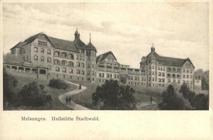 Ex sanatorium in 1910 Unknown