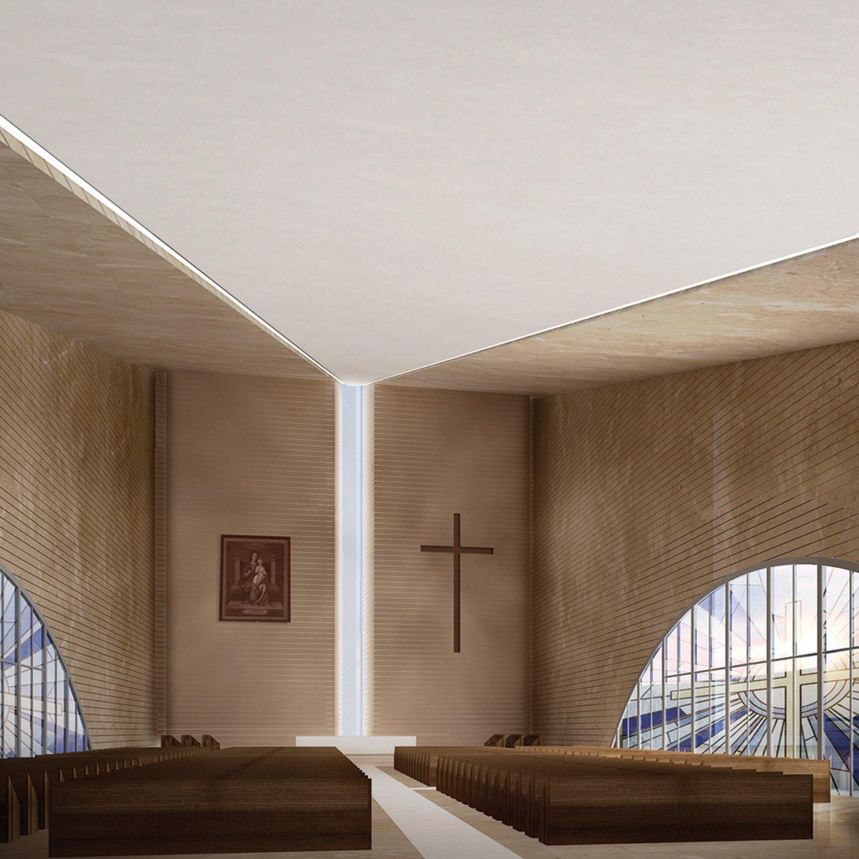 Hrajel Church_ Interior view }