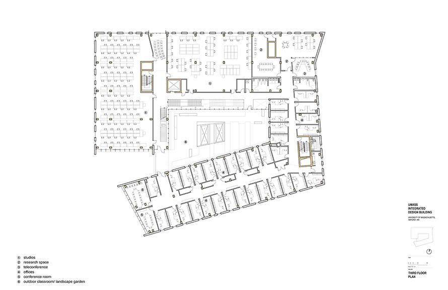 3rd Floor Plan }