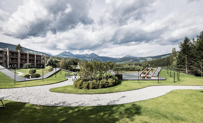 architecture becomes landscape and landscape becomes architecture Alex Filz