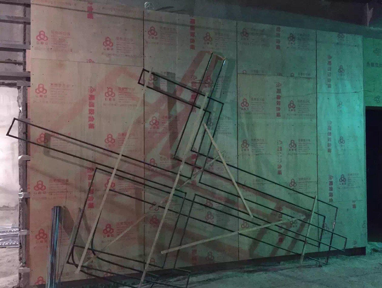 XINTANGWANKE MALL INTERNATIONAL CINEMA under construction