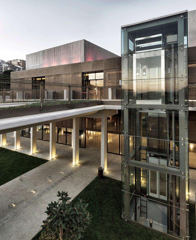 BerKM Bergama Cultural Center - Courtyard