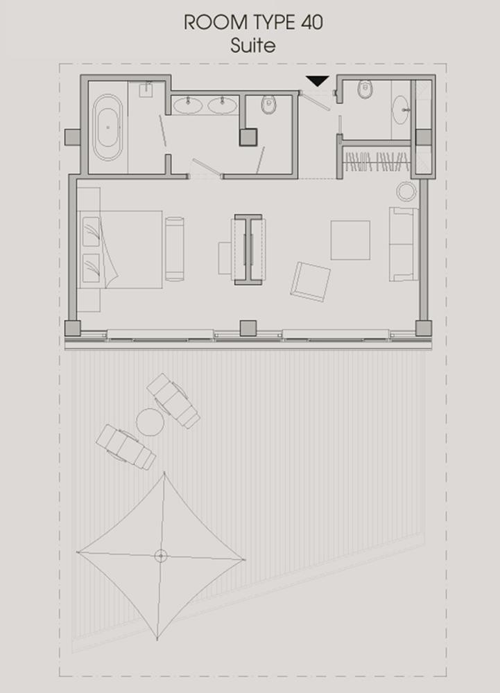 Room type - Suite terrace }