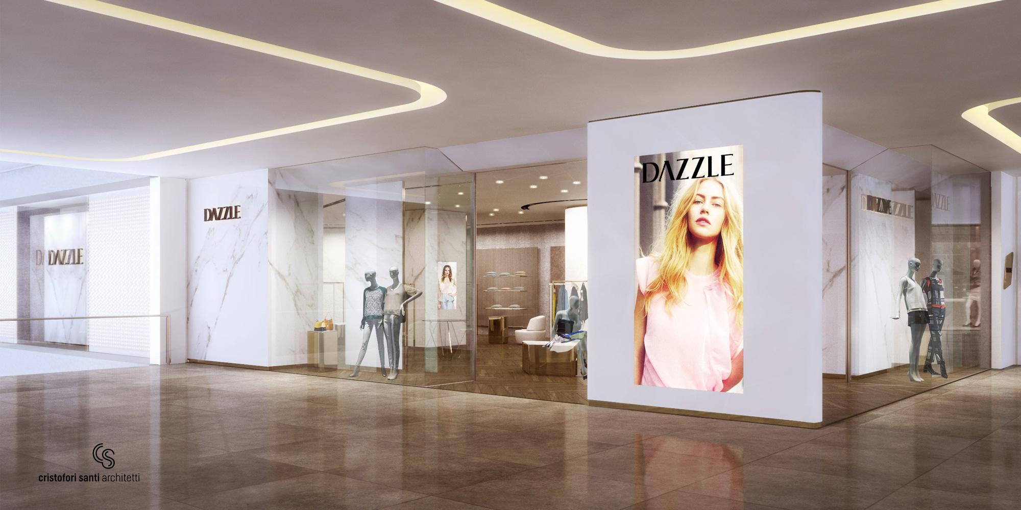 Dazzle - Store Front Render }