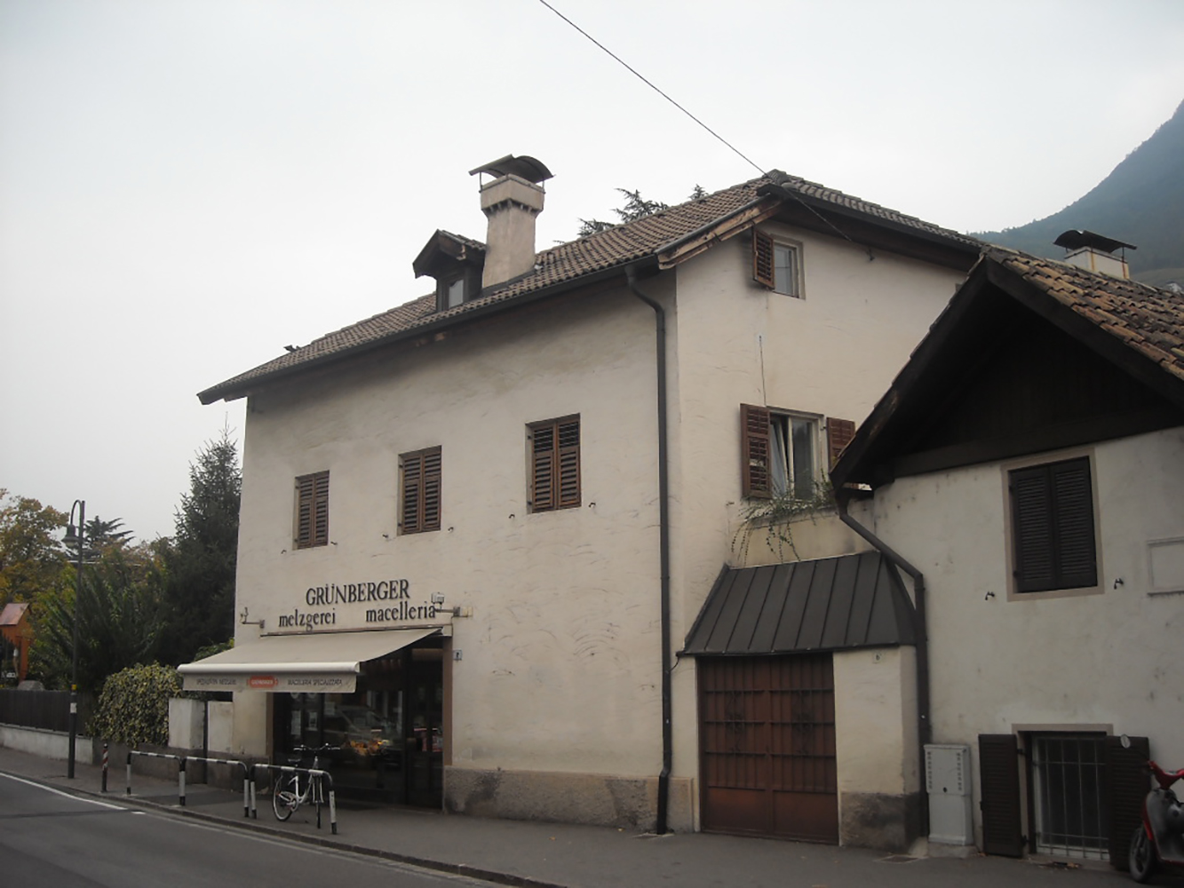 house before the reconstruction
