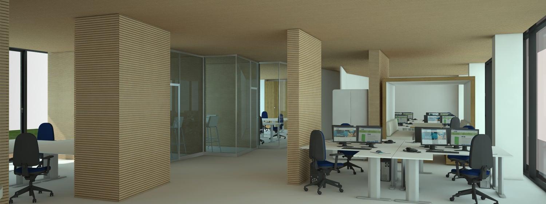 vista interna degli uffici sviluppo software Andrea Belletti per M.M.B. s.r.l.