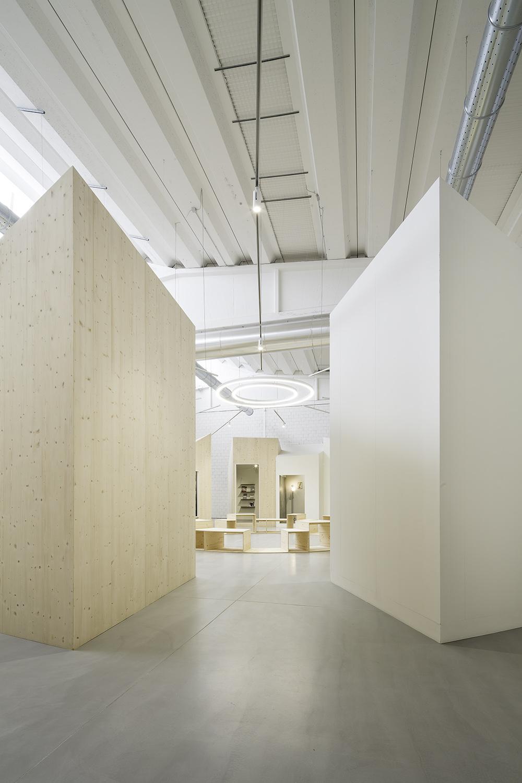 showroom 1 - dettaglio degli spazi espositivi Filippo Poli