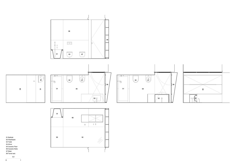 bathroom design Raulino Silva Architect}