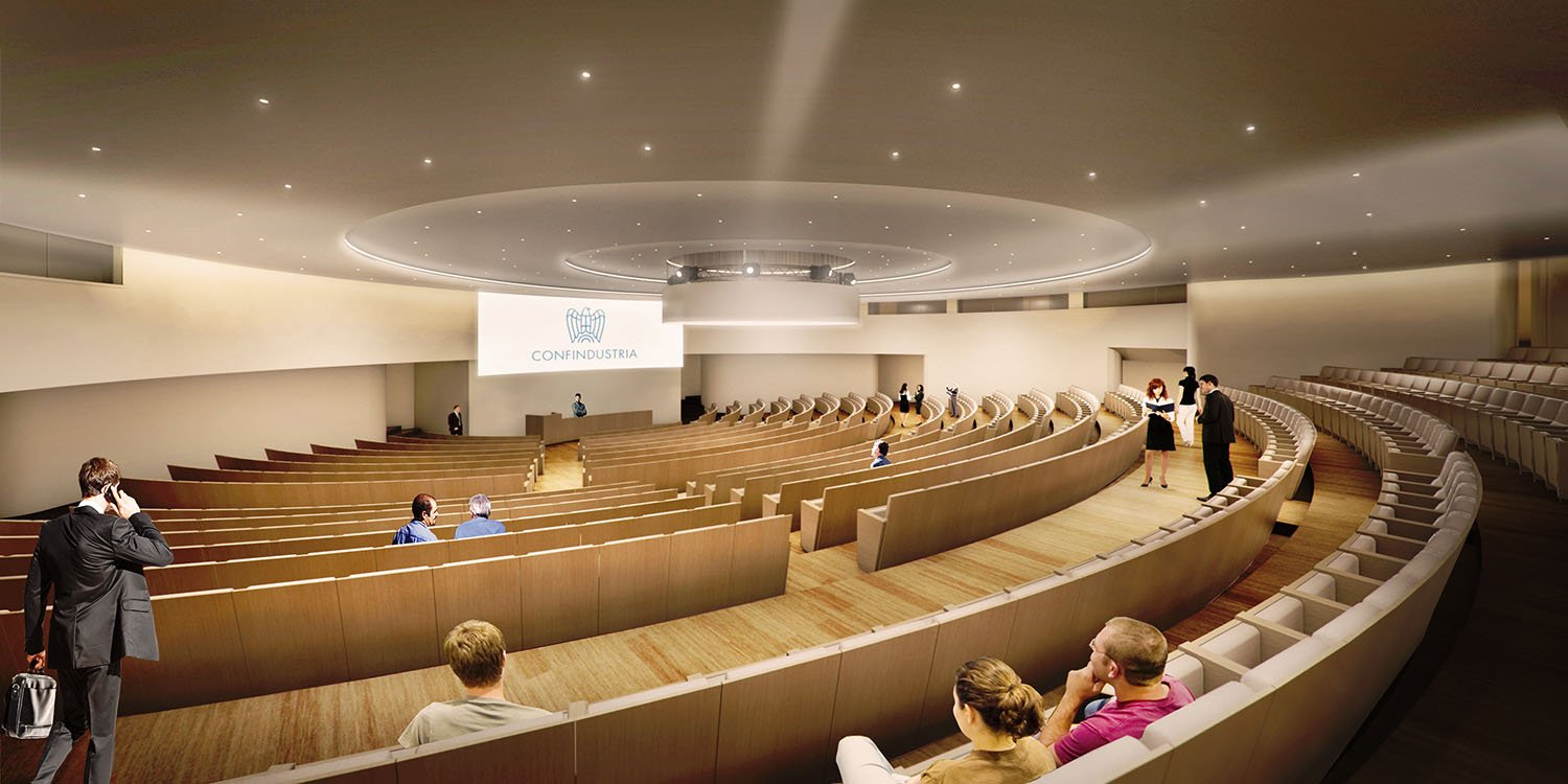 Auditorium render }