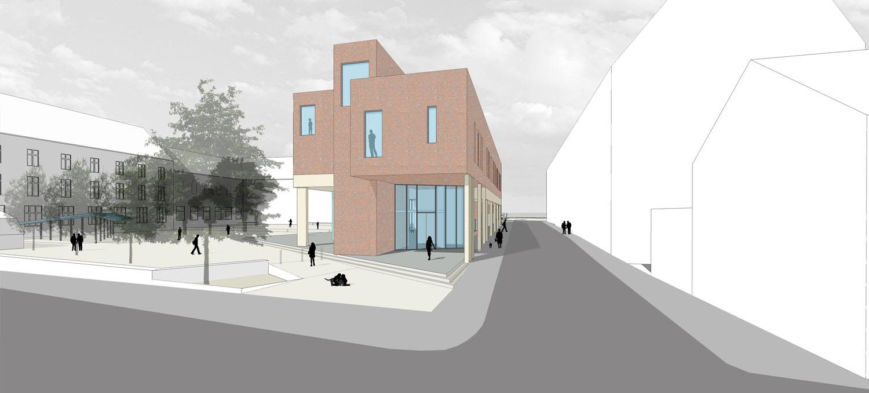 View of Teaching block (2) Coady Architects / ELD Partnership}