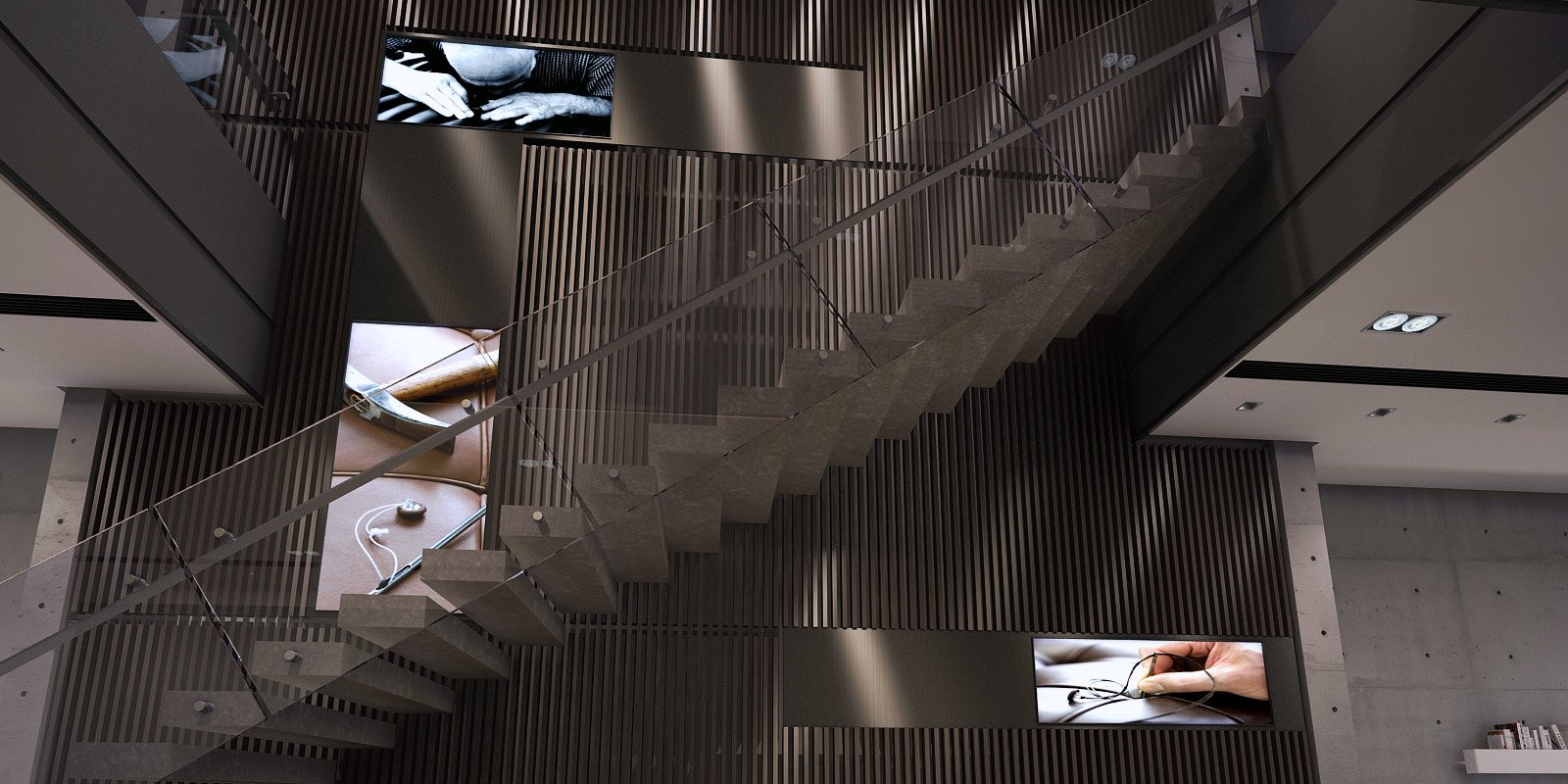 staircase Chain10 Architecture & Interior Design Institute}