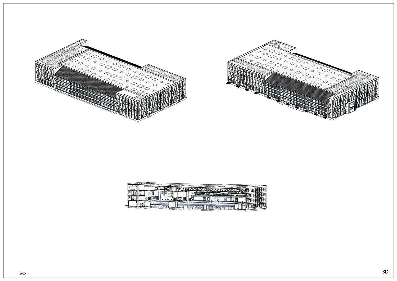 3D Axonometries © Kraaijvanger Architects}