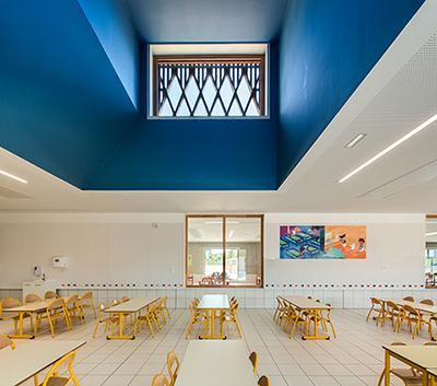 MON - PRESCHOOL AND ELEMENTARY SCHOOL REFECTORY  ©Luc Boegly