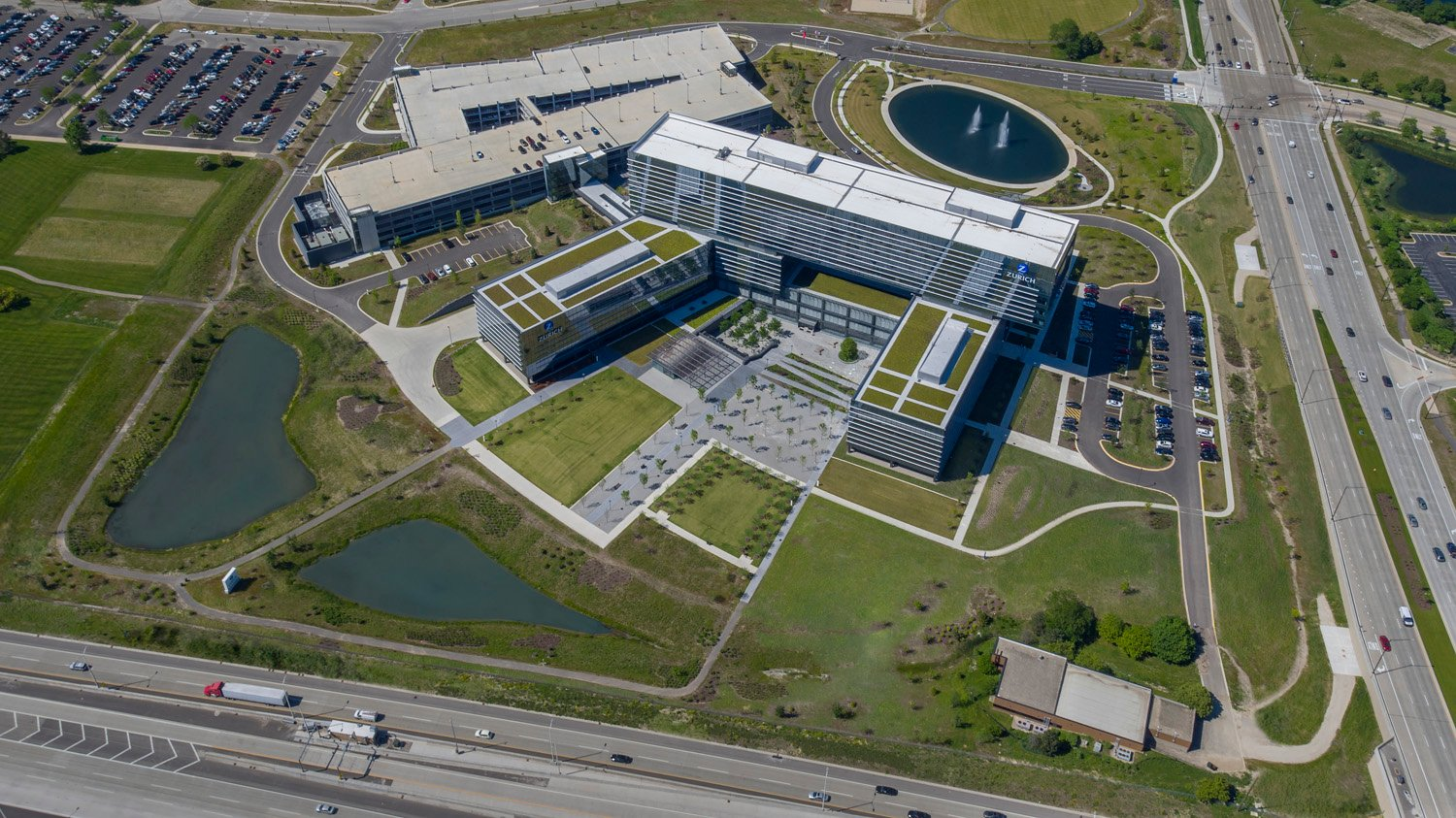 Aerial of Site James Steinkamp Photography