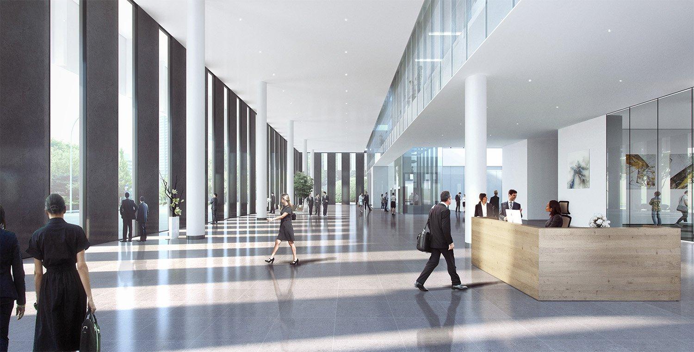 Office Lobby EID Architecture