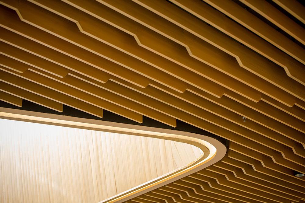 Timber soffit detailing