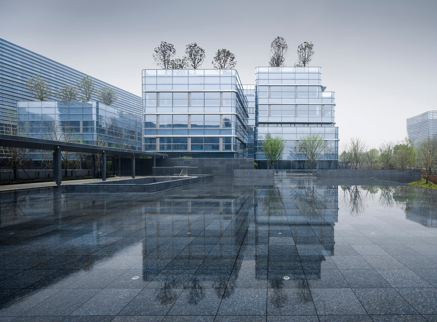 extract the typical wetland space form to reconstruct the modern Xixi life Yao Li