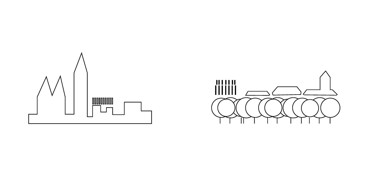 Cityscape schemes KAAN Architecten}
