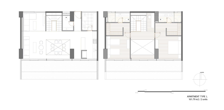 Apartment type L ARCHETONIC}