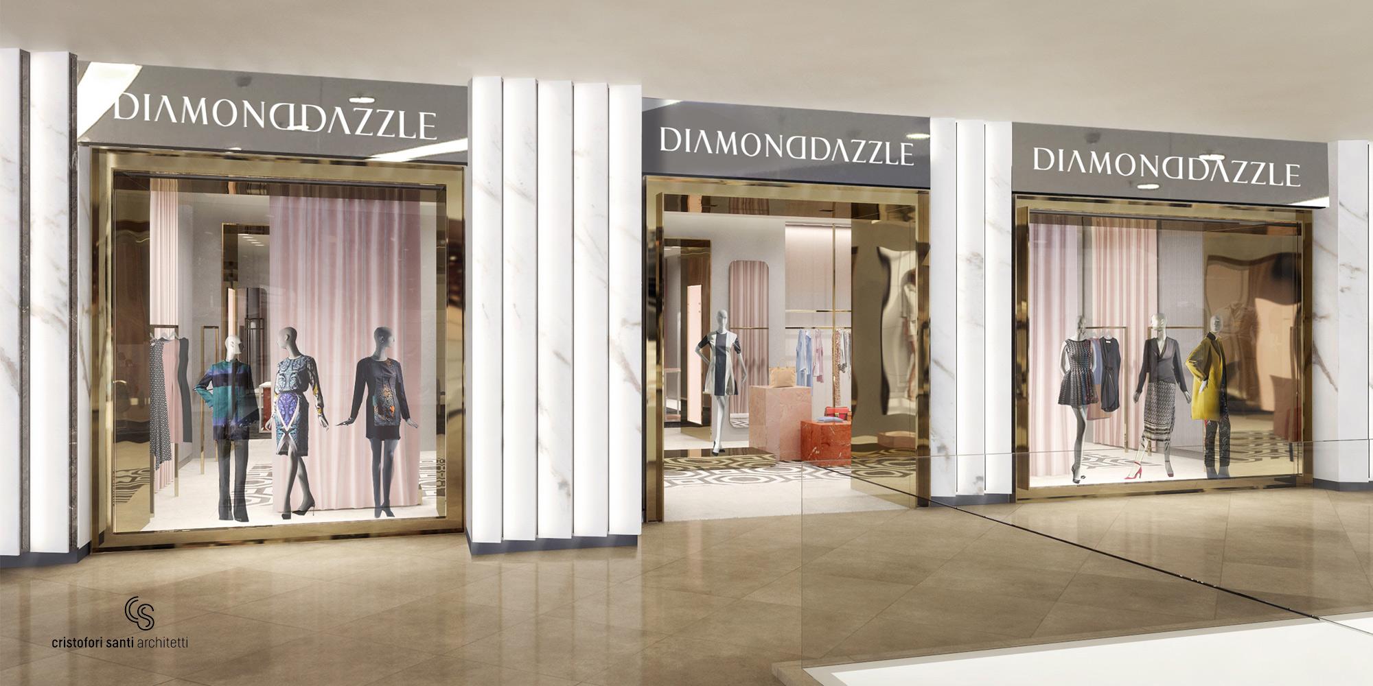Diamond Dazzle - Store Front Render }