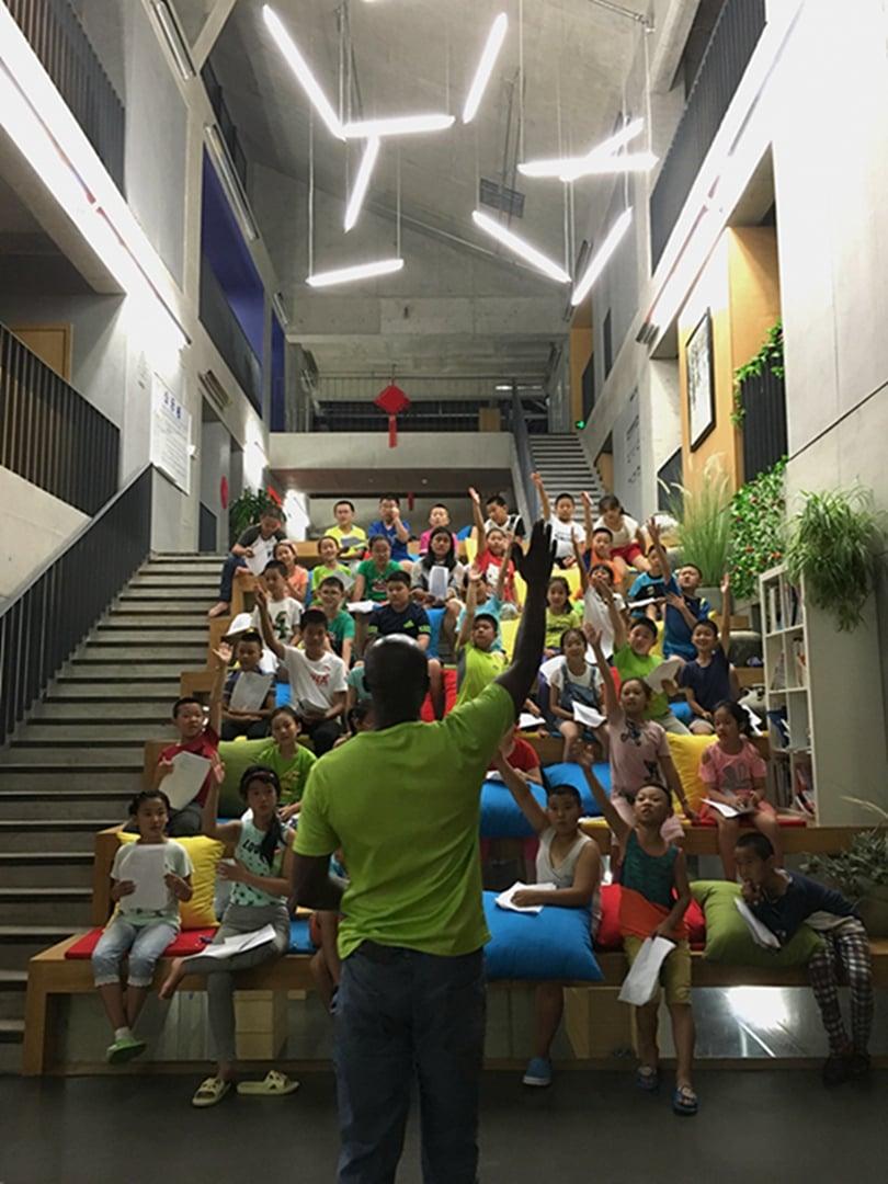 12-Daily activities in the atrium