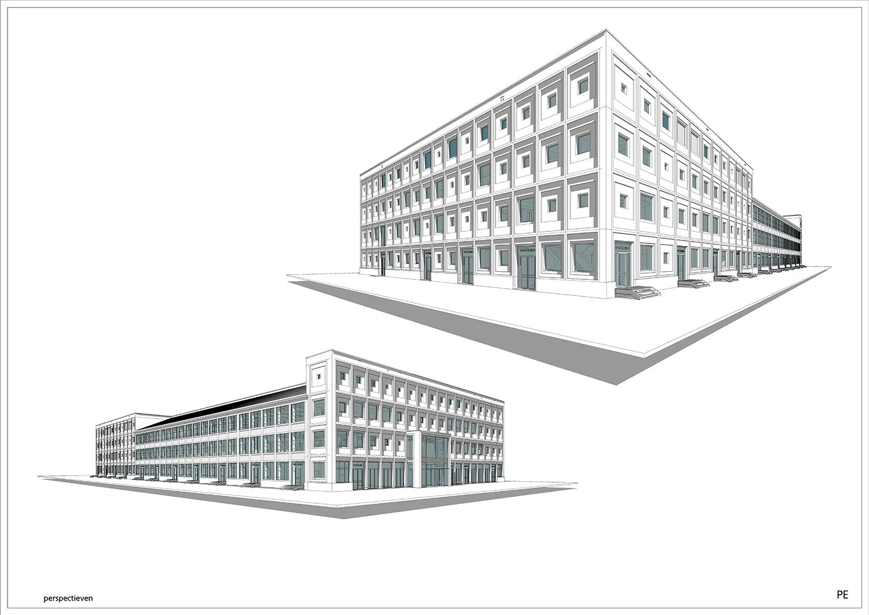 3D BIM Perspectives © Kraaijvanger Architects}