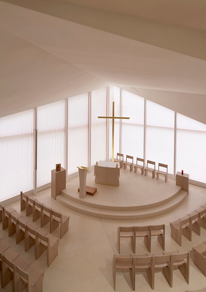 Chapel from the first floor