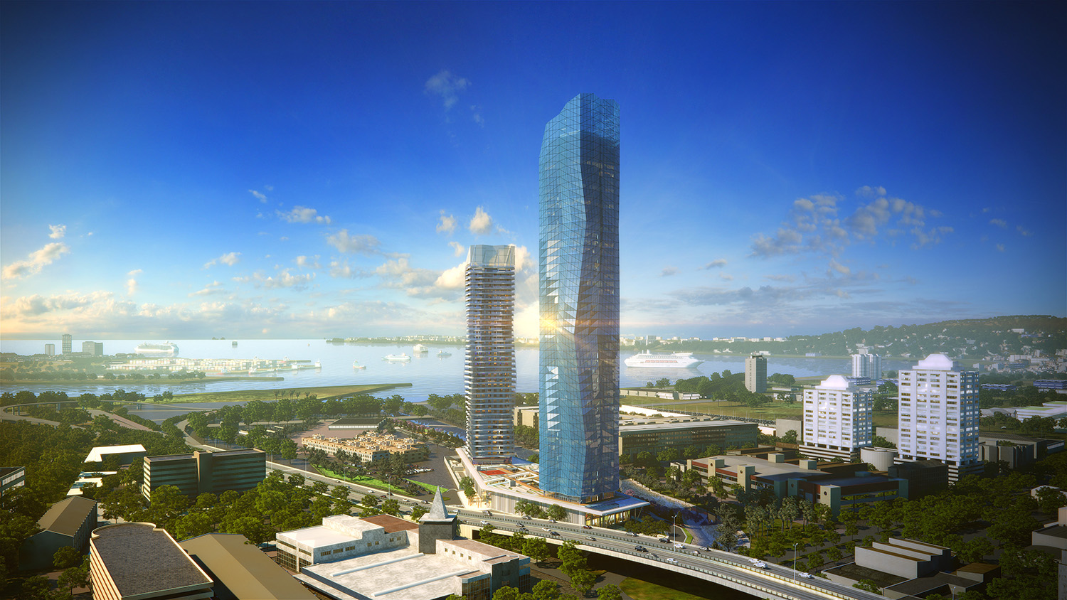 MISTRAL  & MIRAY MIXED USE COMPLEX - Rendering