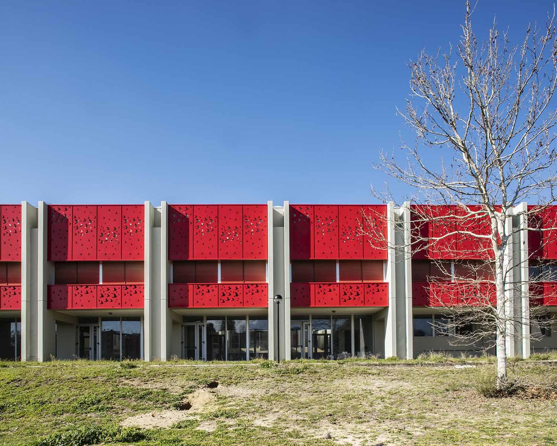 La facciata Luigi Filetici