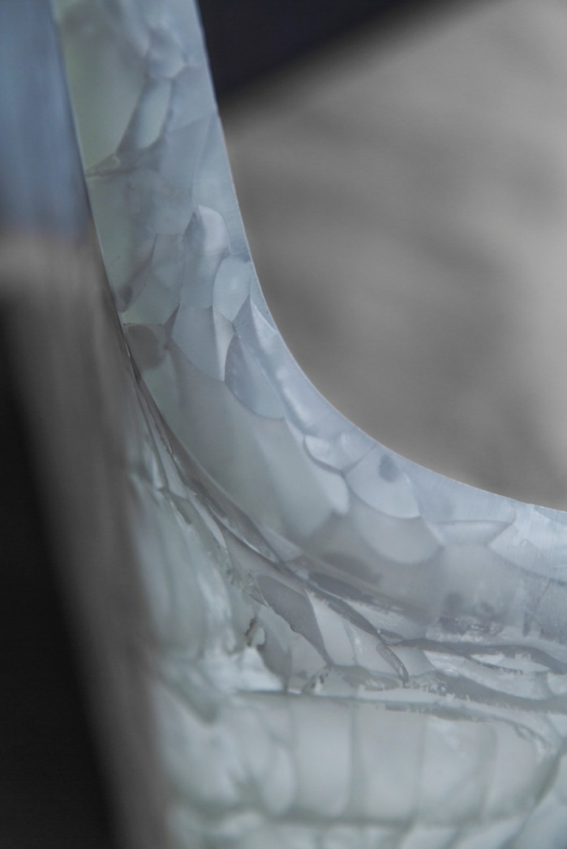 Cast Glass Detail }