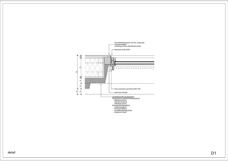 Construction detail © Kraaijvanger Architects}