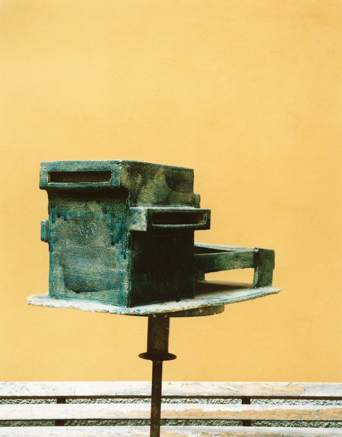 Ceramic model by the artist Danilo Trogu