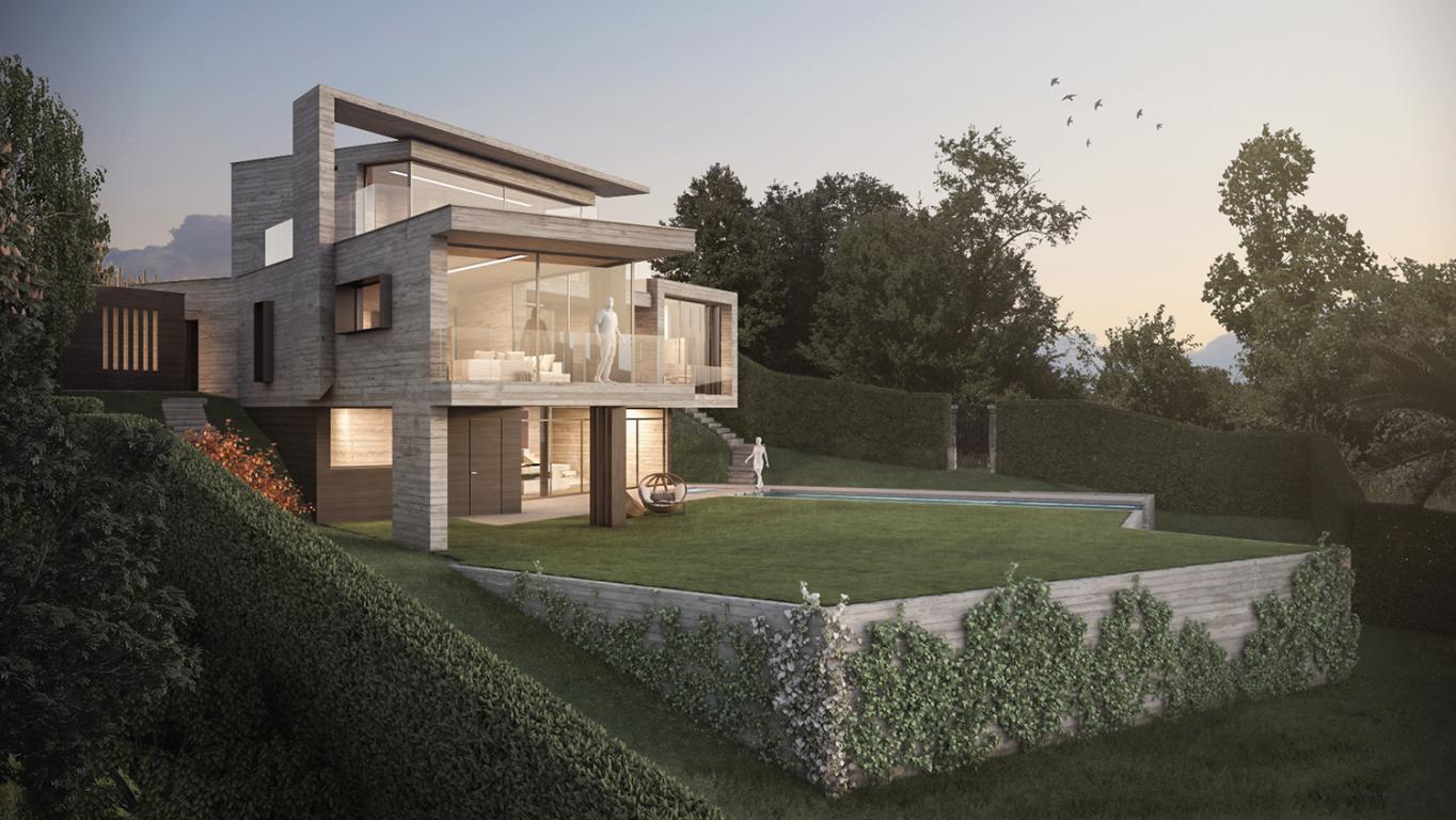 Giardini Moderni Borgomanero : Manzetti roberto architetto mahouse