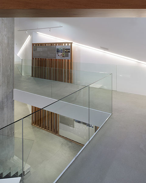 view from first floor Héctor Santos}