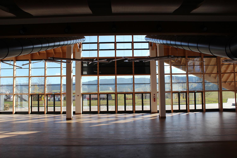 Edificio polivalente e parco urbano - Canove - vista interna 2 Nadia Basso